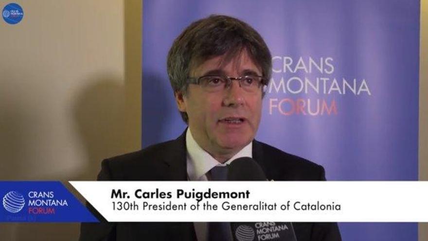 El juez investiga si se desviaron 300.000 euros para pagar charlas de Puigdemont en un foro internacional