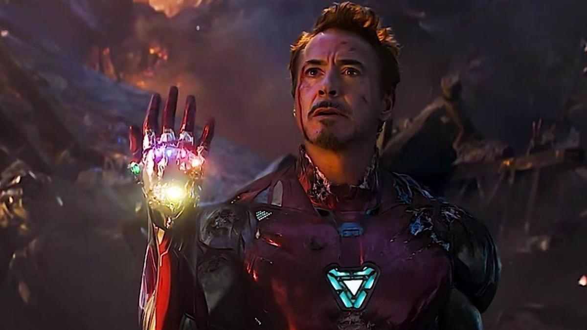 Robert Downey Jr, en 'Vengadores: Endgame'.