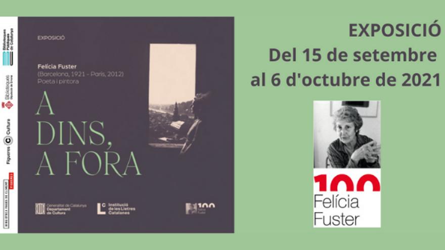 Exposició 100 anys del naixement de Felícia Fuster i Viladecans