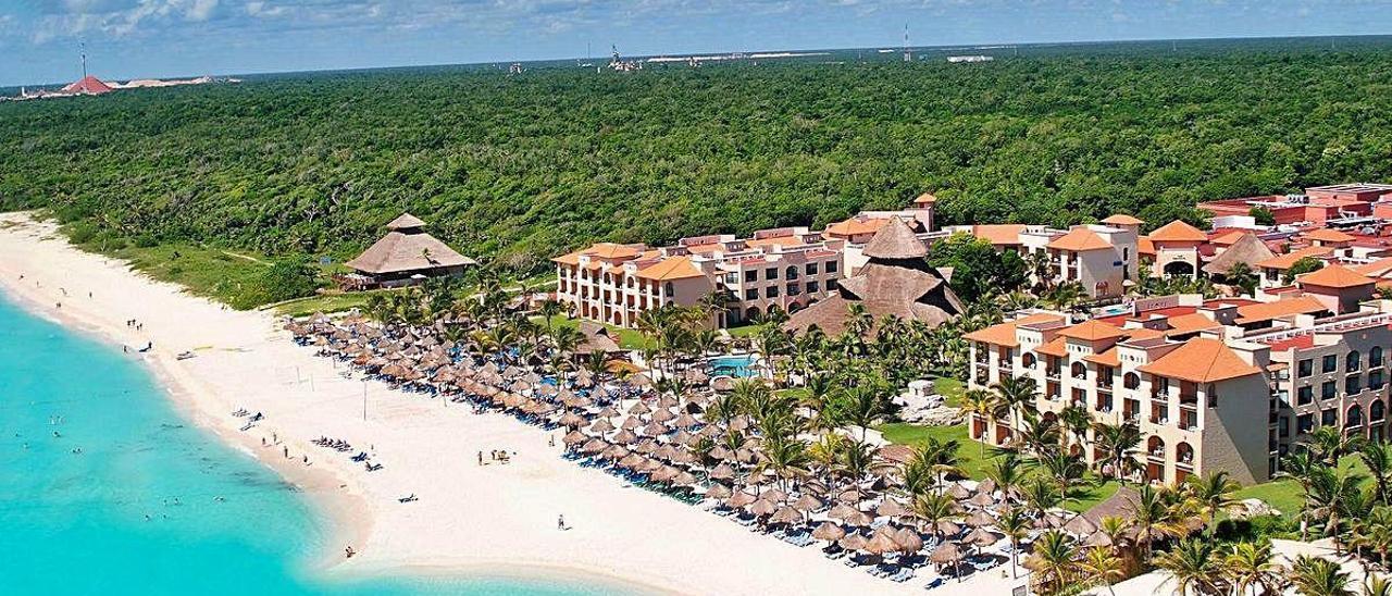 Uno de los hoteles del grupo Valfensal en el Caribe mexicano, que estaba participado por TIP.