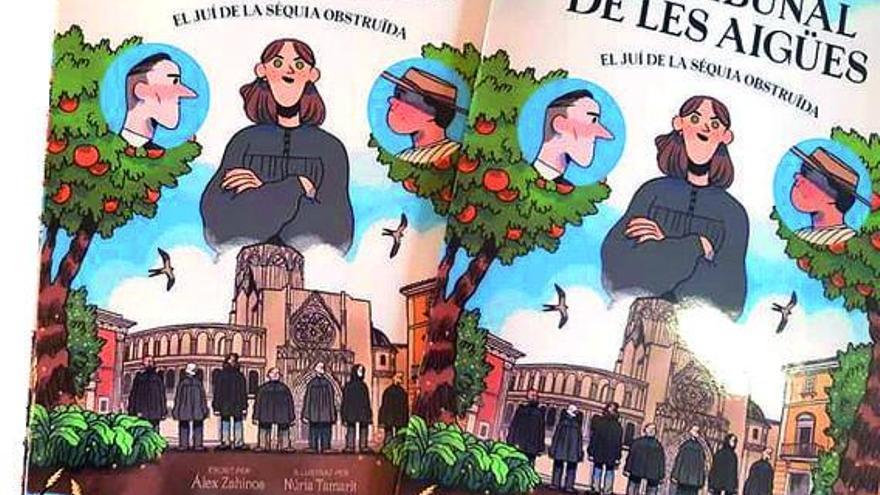 La mil·lenària història del Tribunal de les Aigües  passa al còmic