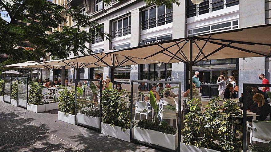 Buena acogida en los primeros días de la apertura del renovado café Atlantic