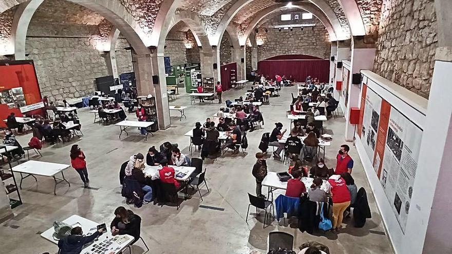 Prop de 500 persones juguen al Tast de Jocs al Museu de la Tècnica