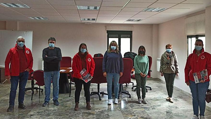 Cruz Roja atiende a 642 personas en riesgo de la Vall d'Albaida y La Serranía