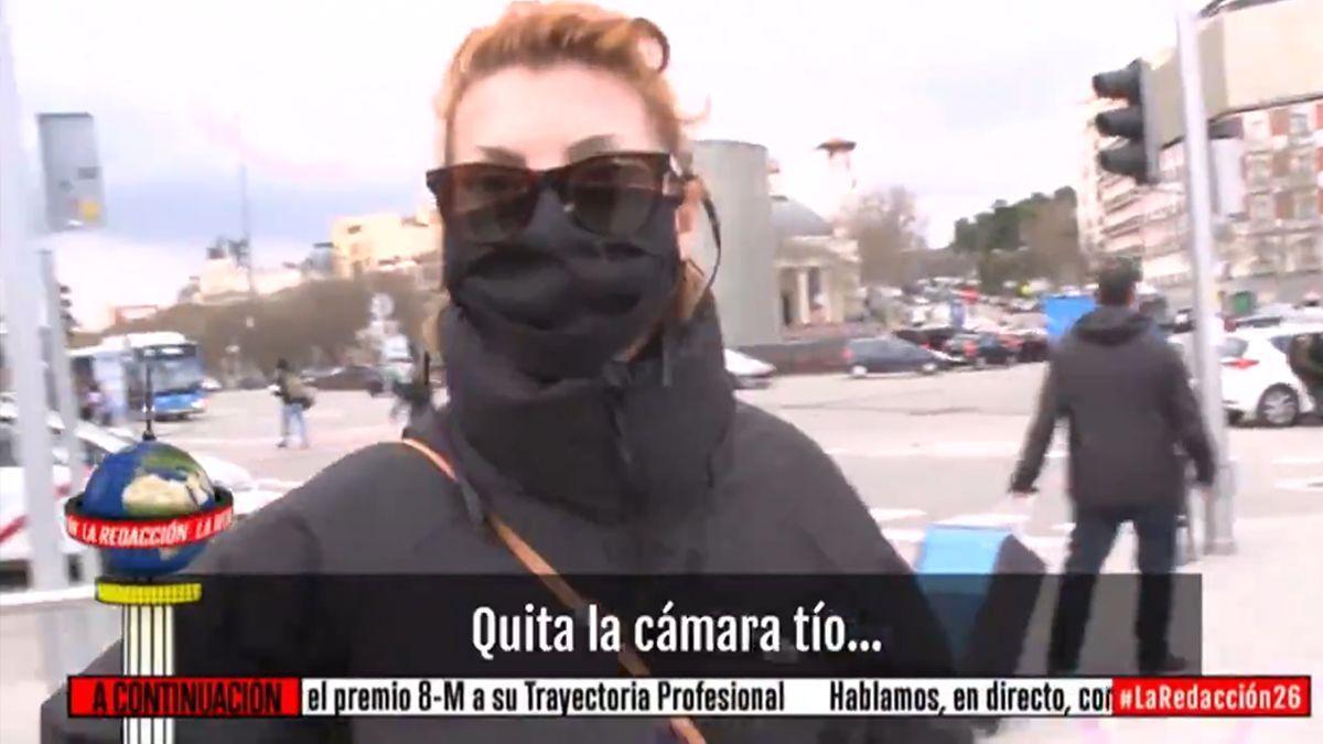 Nakwa Nimri a su llegada a Atocha.