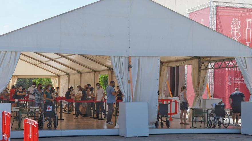 El Auditori de Castelló abrirá en sábado para llegar a 18.000 vacunados en 6 días