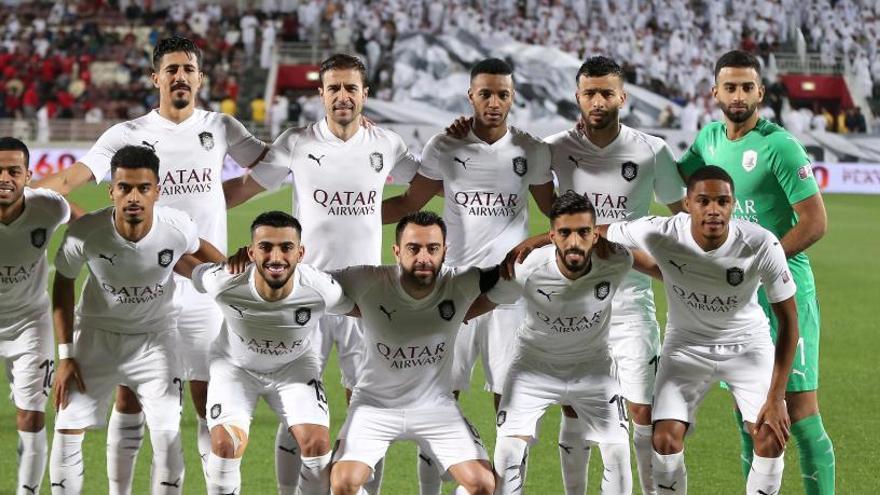 Xavi Hernández y Gabi ganan la liga catarí con el Al Sadd