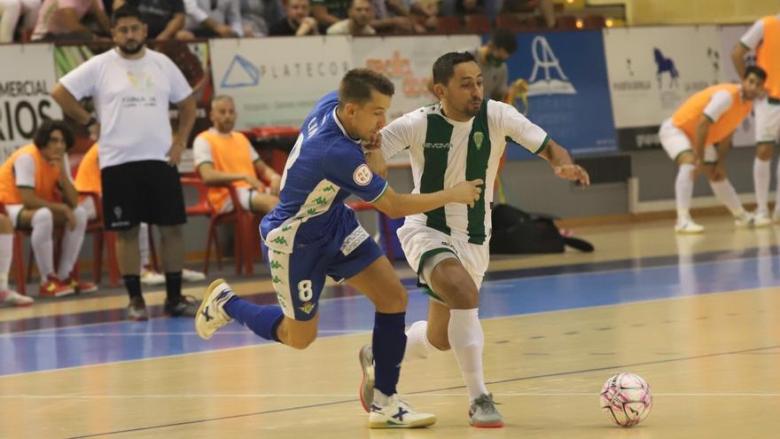 Un Córdoba Futsal valiente se hace querer en Vista Alegre