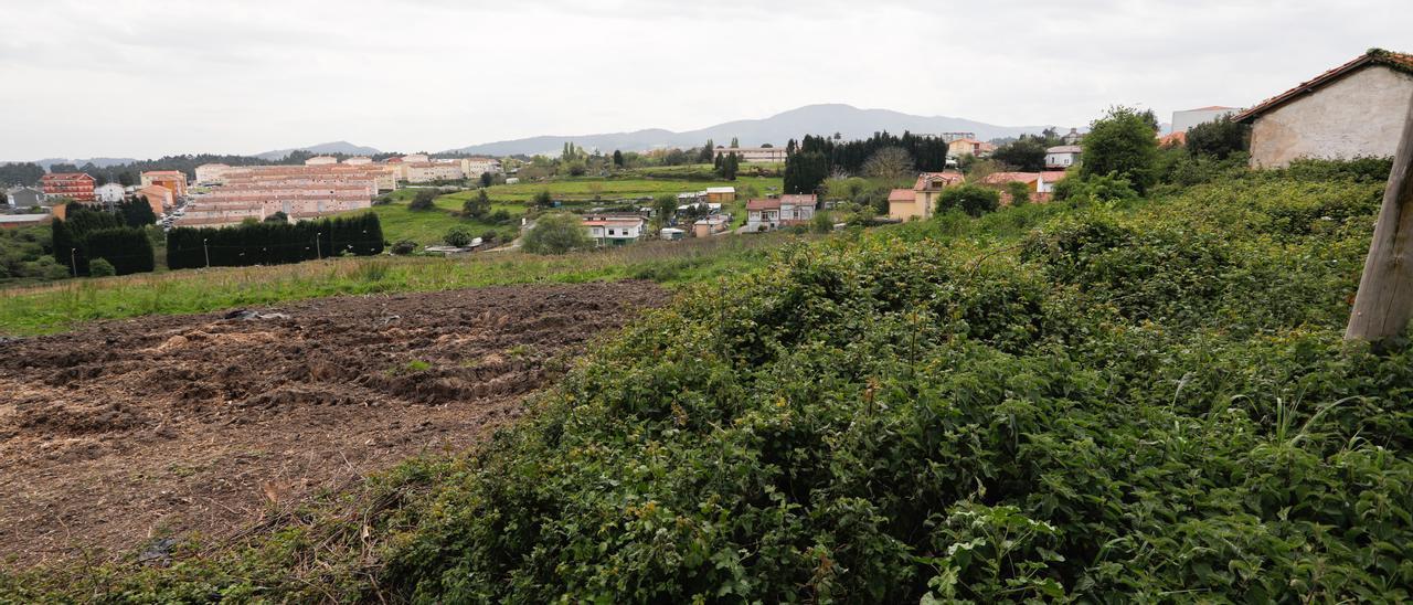 Terrenos afectados por el Plan Parcial del Bao Sur.
