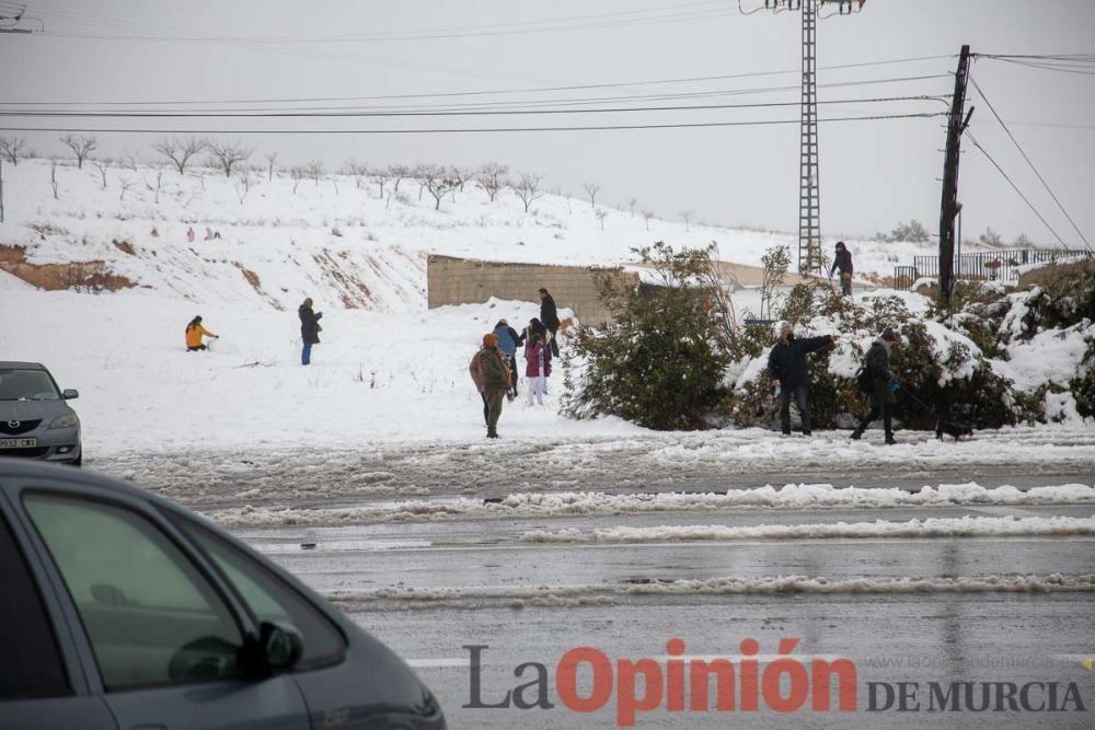 El temporal da una tregua en Caravaca