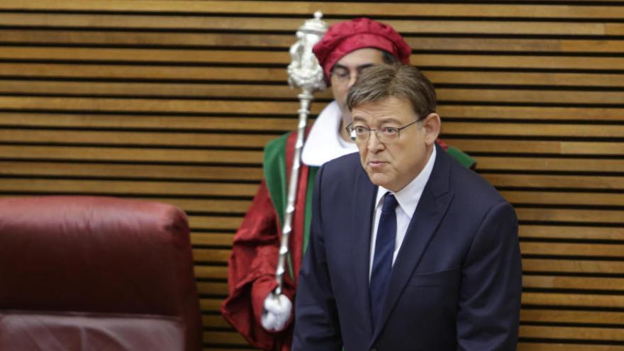 """Ximo Puig: """"La solución al problema valenciano es inaplazable"""""""