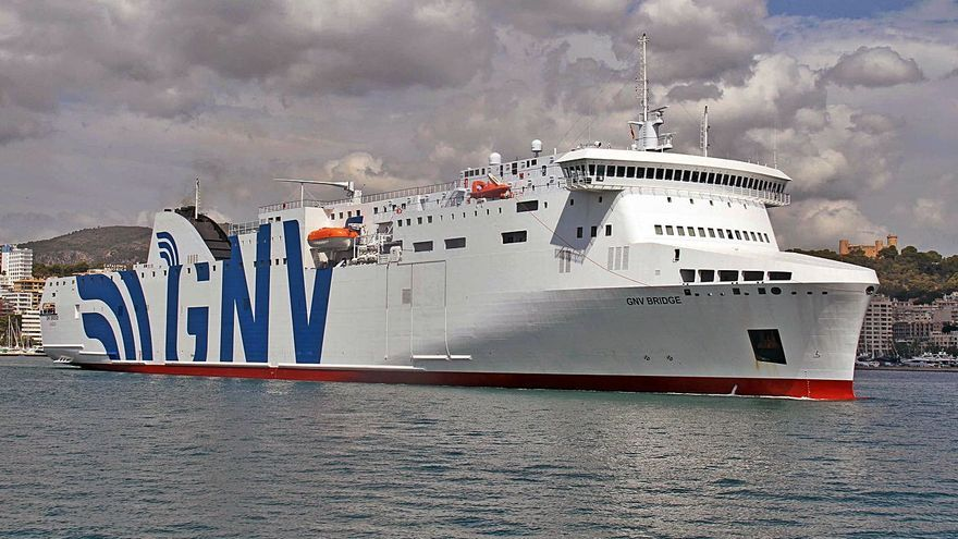 Presentan la nueva naviera GNV en el Puerto de Palma