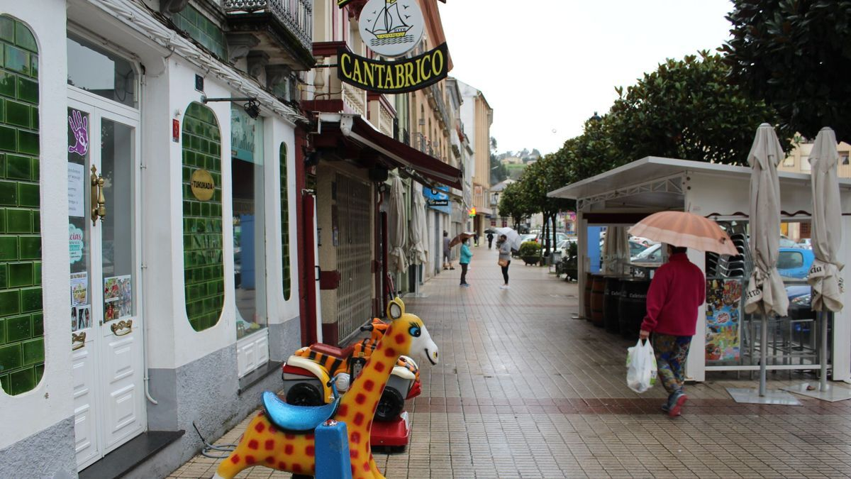 Comercios cerrados en Asturias.