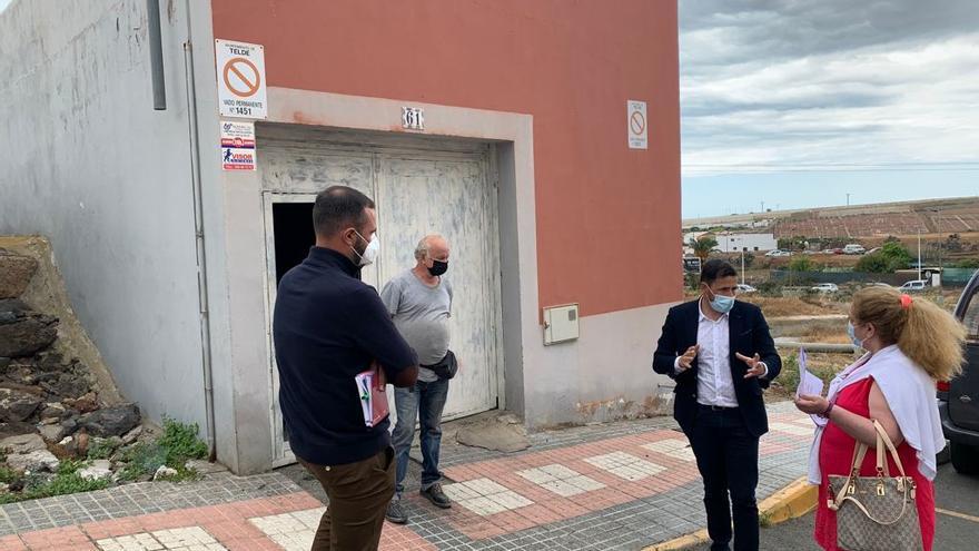 El Ayuntamiento de Telde estudia la posibilidad de conectar a la red de abastecimiento una zona en Los Llanos
