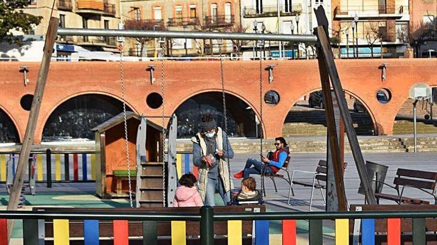 Puig-reig instal·larà un parc als voltants de la plaça Nova