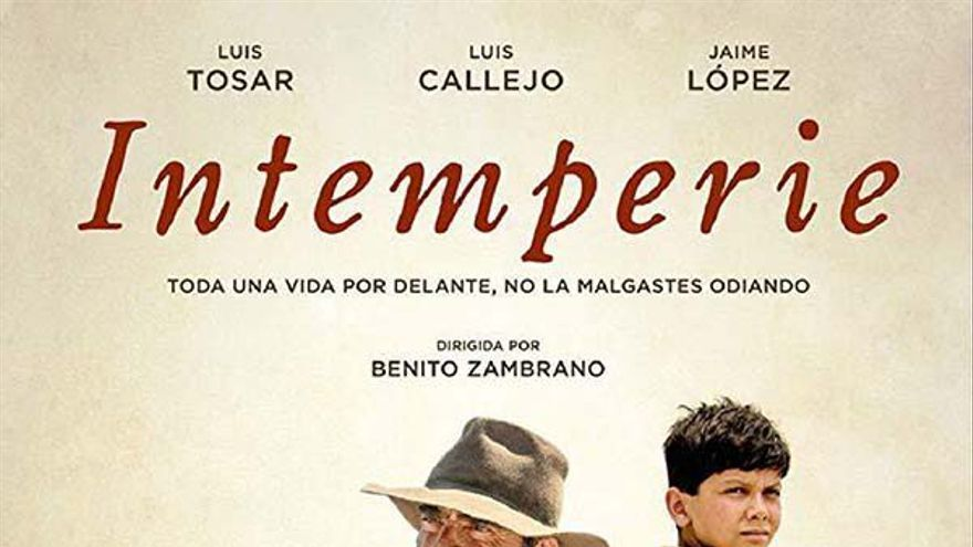 Ciclo de cine abierto 2021 en CMR. Intemperie
