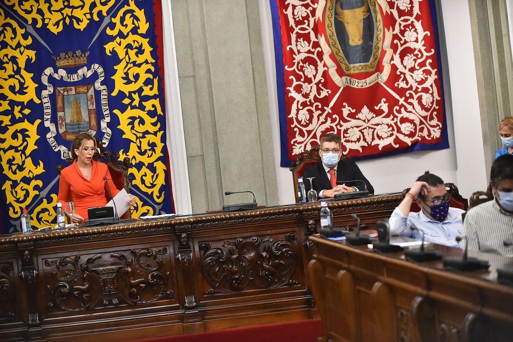 Despedida de Ana Belén Castejón como alcaldesa de Cartagena