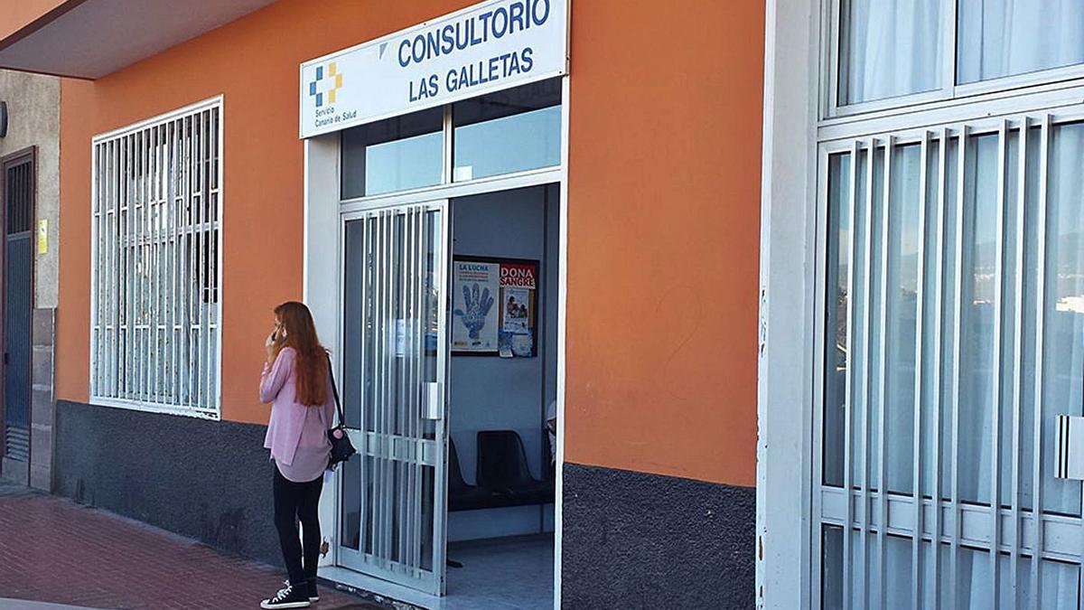 Consultorio de Las Galletas, en Arona.     E.D.