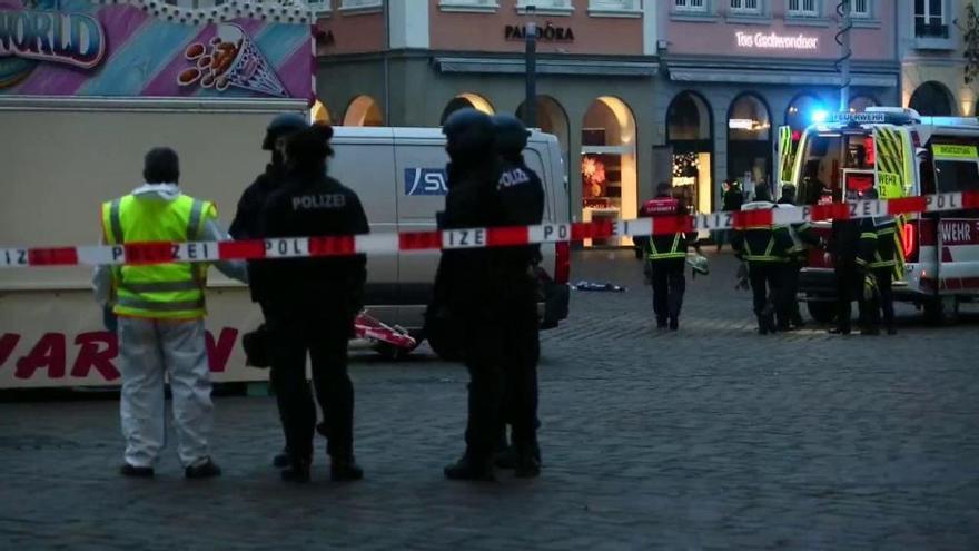 Almenys cinc morts en un atropellament massiu a la ciutat alemanya de Trèveris