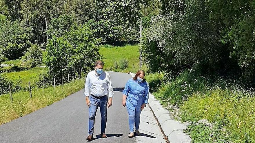 Cerdedo-Cotobade mejora una pista municipal en Quireza