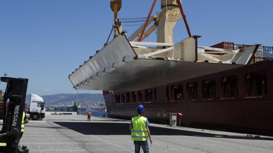 Vigo tiende puentes con Montevideo... literalmente