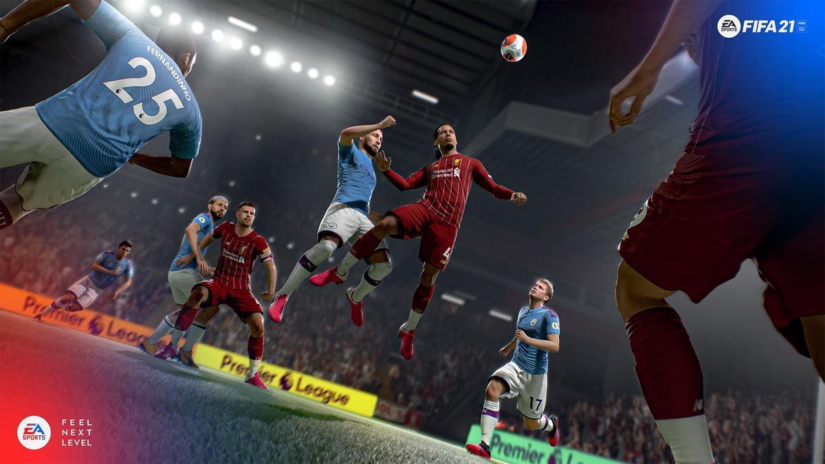 Una imagen de 'FIFA 21'