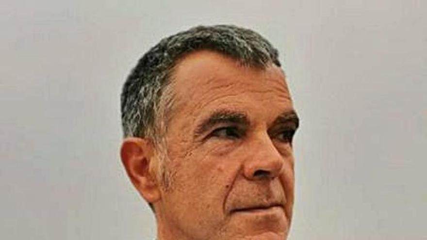 Luis Arranz, presidente de la Asociación Galbán de familias de niños con cáncer
