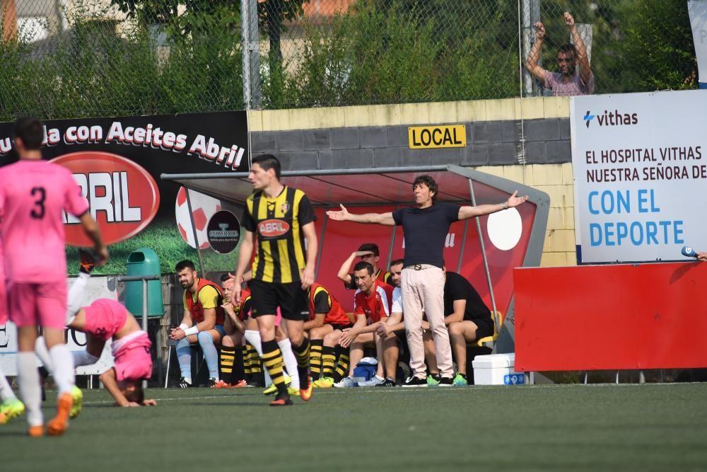 Carlos Pereira igualó de penalti a dos minutos para la conclusión y con el equipo en inferioridad numérica desde el minuto 58