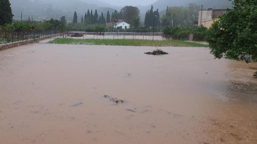 Rescatan a seis personas al inundarse sus casas en Sóller, Biniali y Santa Maria