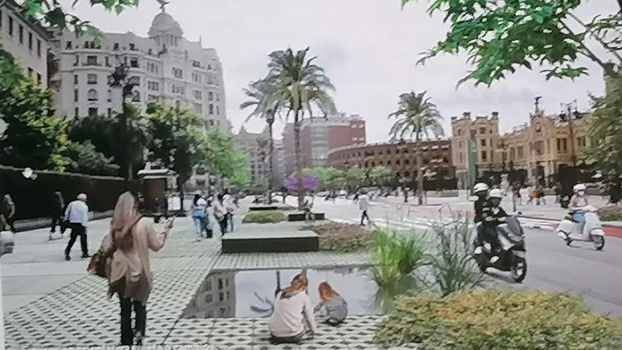 La ronda interior será un bulevar con un 60% de espacio peatonal