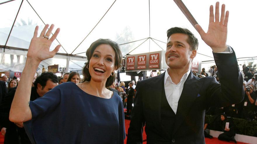 Angelia Jolie y Brad Pitt se reconcilian tras cuatro años separados