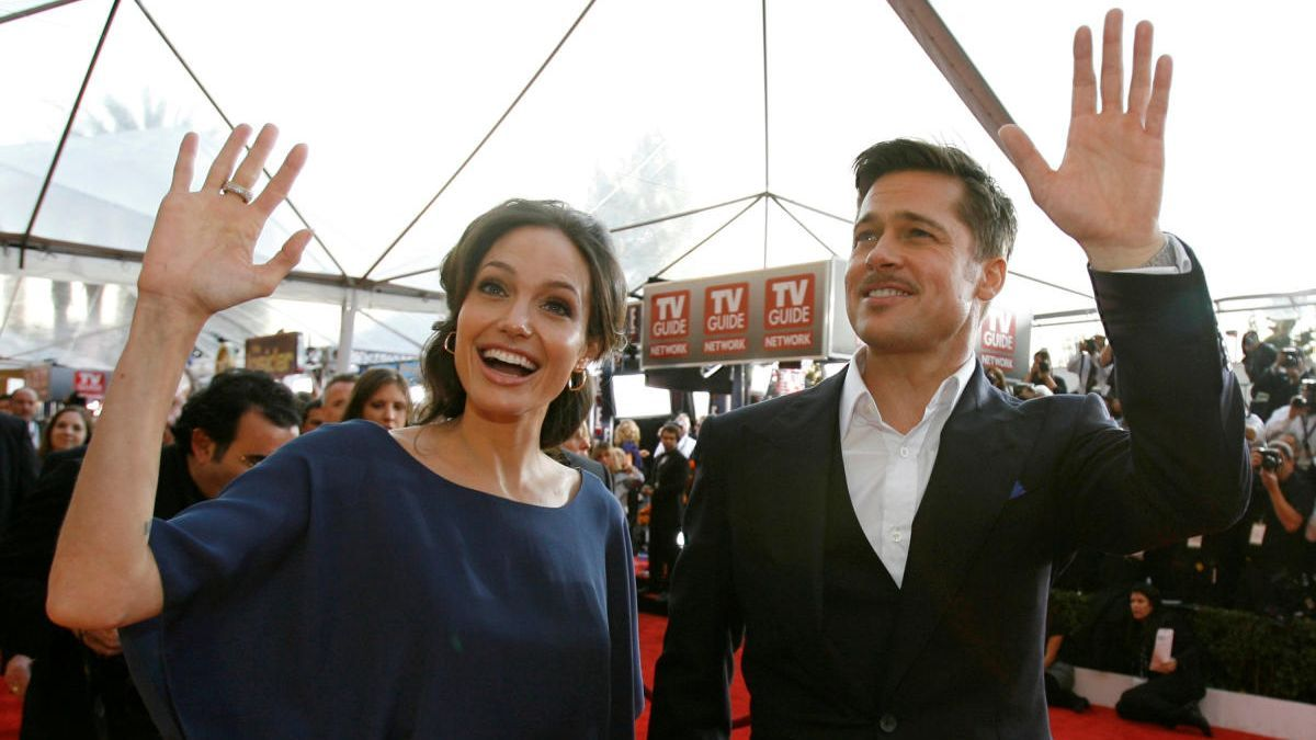 Angelina Jolie y Brad Pitt en 2009