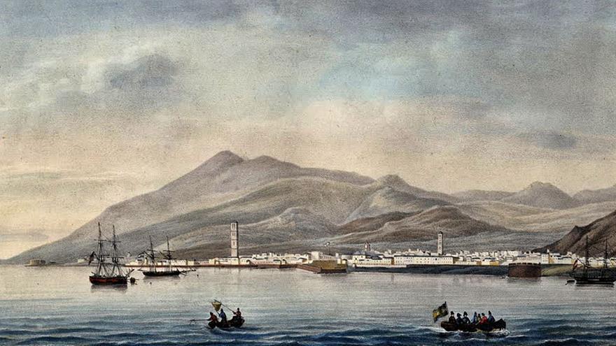 220 aniversario de la segunda escala  de Nicolás Baudin en Tenerife