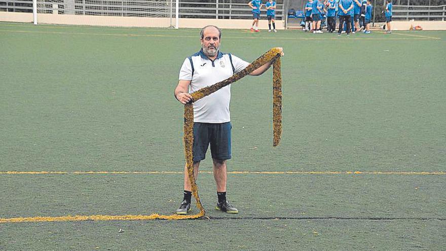 Marratxí sustituirá el césped artificial en los campos de fútbol