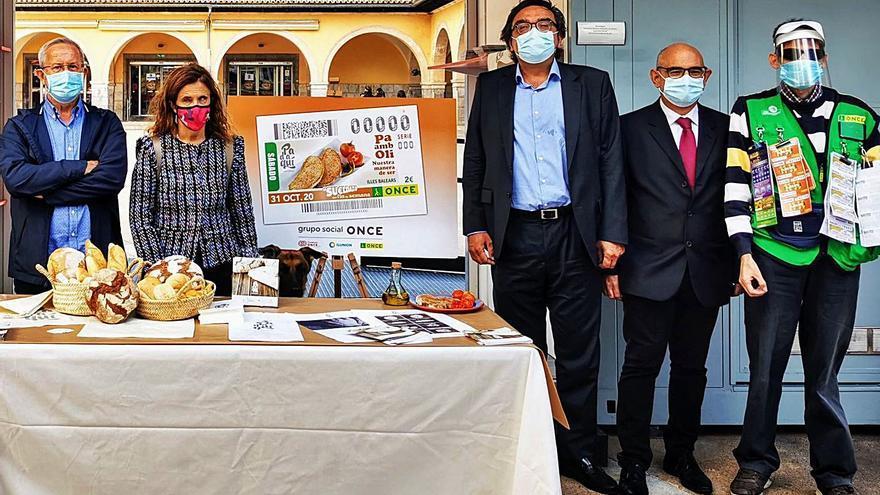 El cupón de la ONCE difunde el 'pa amb oli'