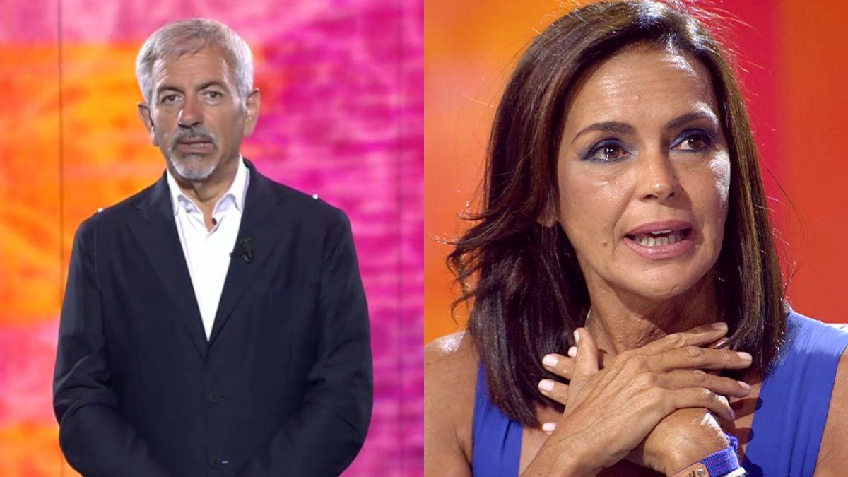 Carlos Sobera defiende el especial de Olga Moreno.