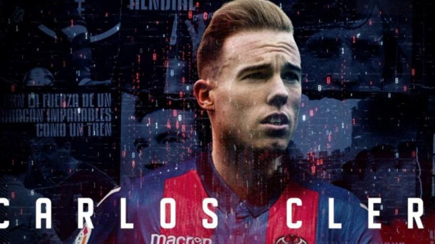 El Levante UD oficializa el fichaje de Carlos Clerc