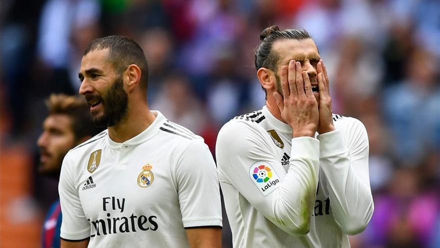 El Madrid carece de gol y líder y es blando en defensa