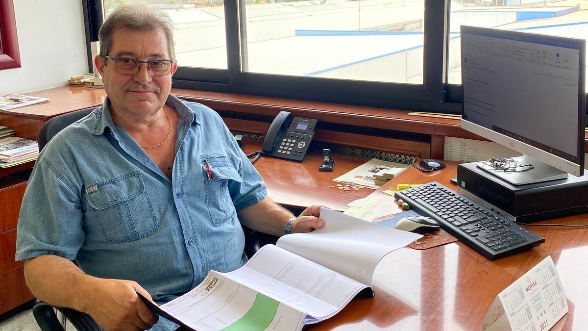 Josep Vidal, propietari de MOVISA