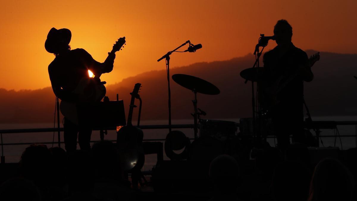 Concierto de Mikel Erentxun en el Festival Terraceo, en el Auditorio Mar de Vigo.