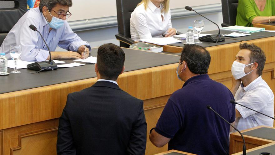 Nueva bronca en la Diputación por la aprobación de siete obras excluidas en el plan de inversiones