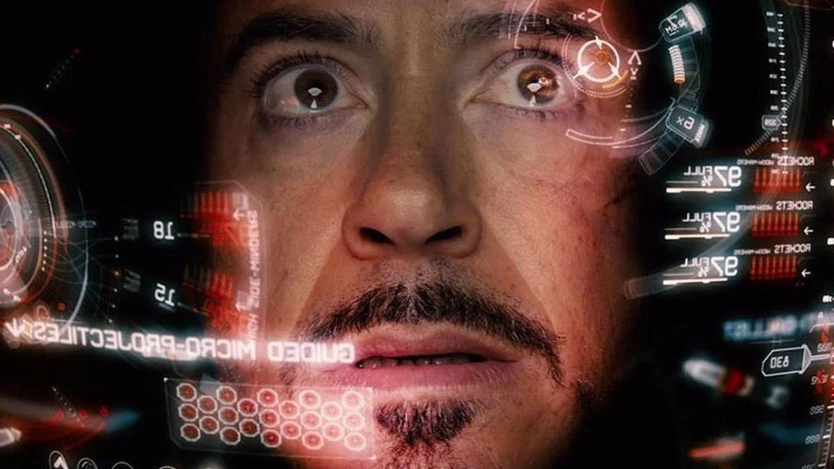 Una imagen de Robert Downey Jr. como Iron Man.