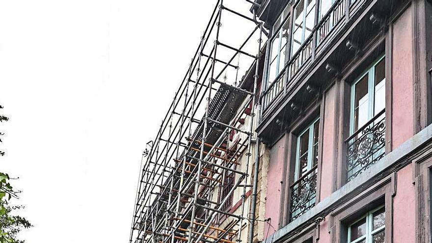 Cultura autoriza la rehabilitación del edificio en ruina de la calle San Antonio