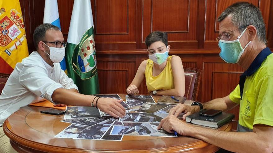 Santa Cruz y El Rosario trabajan en común contra los vertidos ilegales