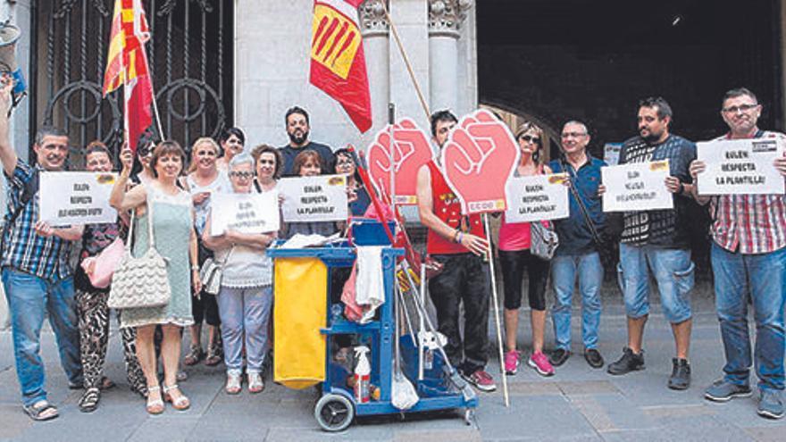 Parat el concurs de neteja d'edificis de Girona per un recurs d'Eulen