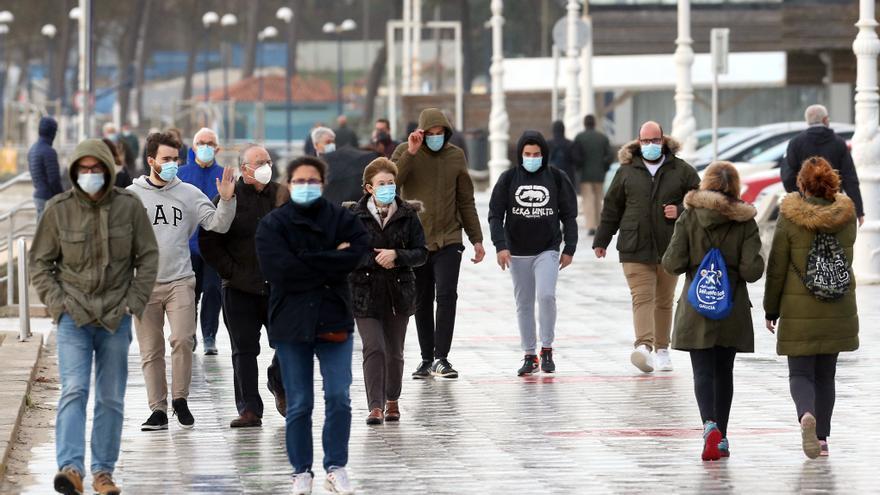 El área viguesa registra el mayor pico de contagiados desde el inicio de la pandemia