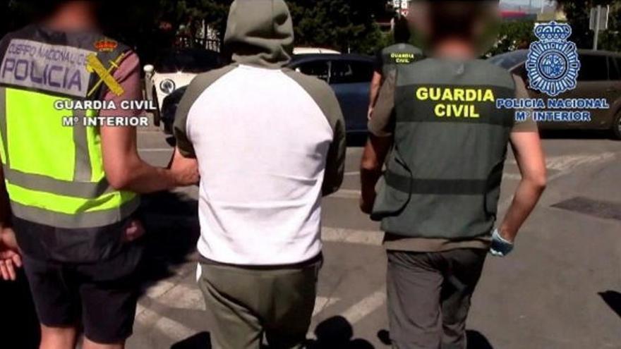 Cae una violenta red que robaba droga a otros narcos en el Campo de Gibraltar