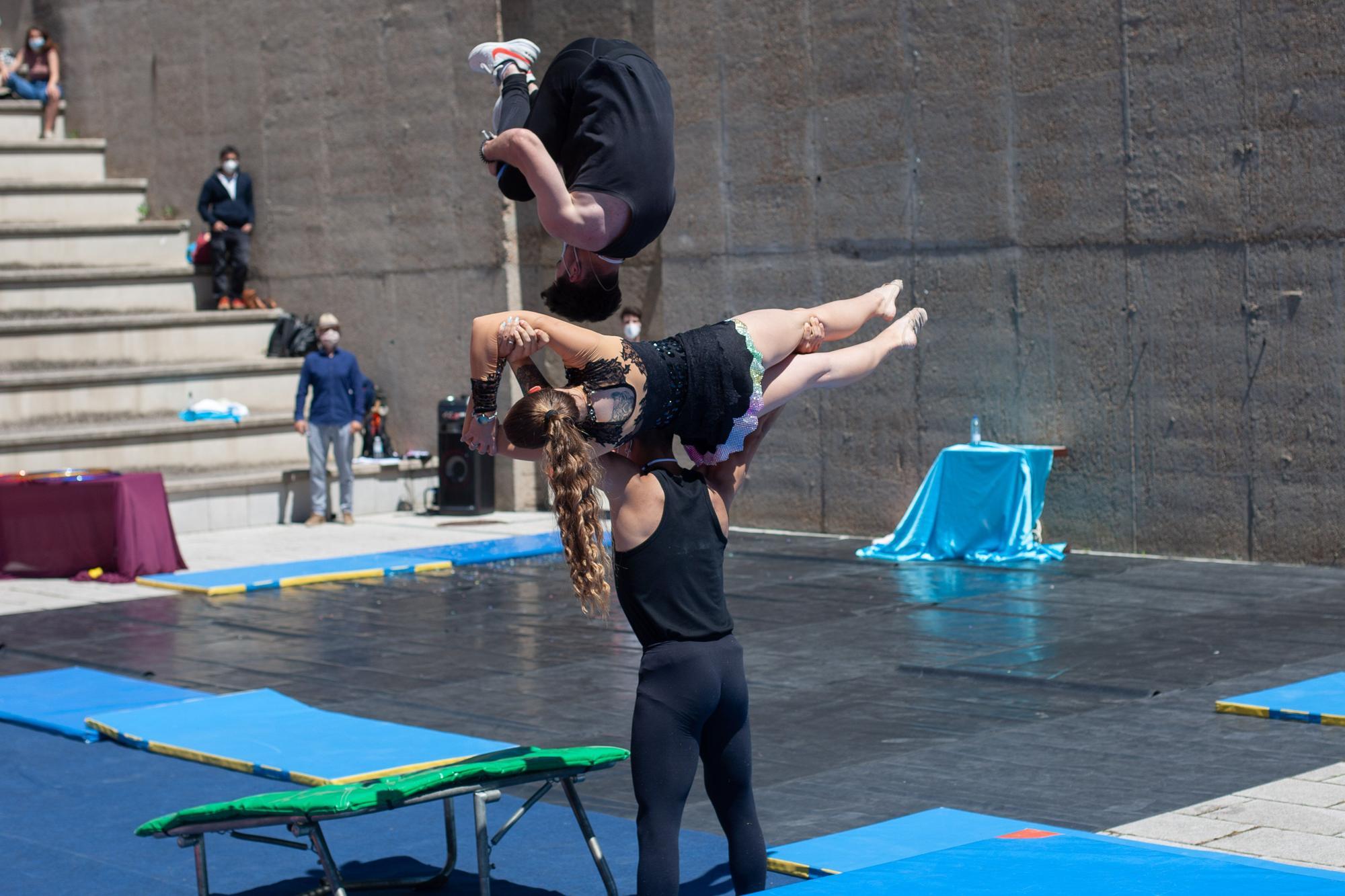 Circus Pandemicus en el Campus Viriato