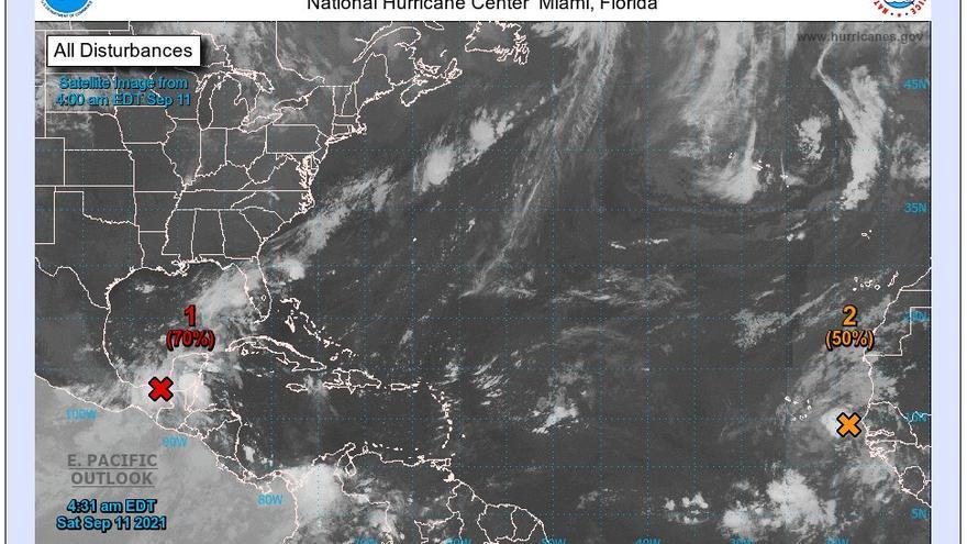 El ciclón tropical 'pasa' de Canarias pero una borrasca en Madeira traerá lluvias