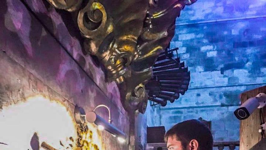 Dani Mulet y la Coral de Sant Joan, en concierto en la Colònia de Sant Pere